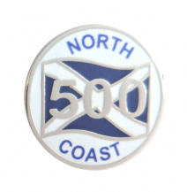 Scotland North Coast 500 Highlands Route Pin Badge - T1272
